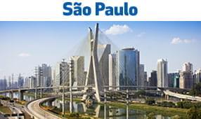 São Paulo, Brazil - view of city skyline